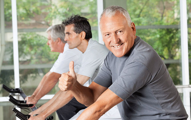 over 60's personal trainers glasgow