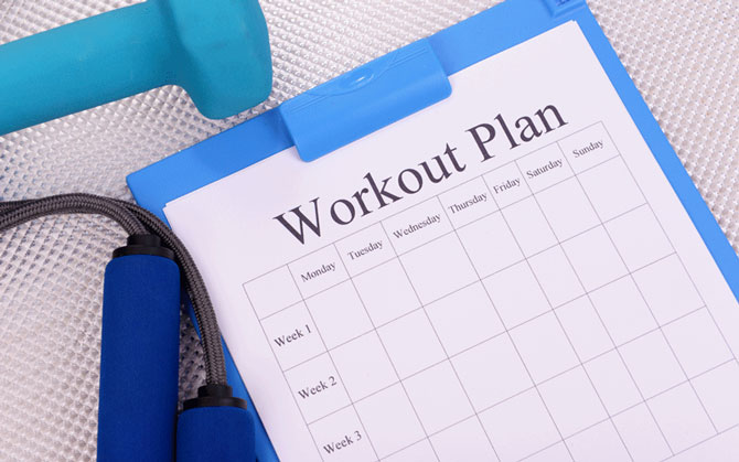 personal trainer health plans for females
